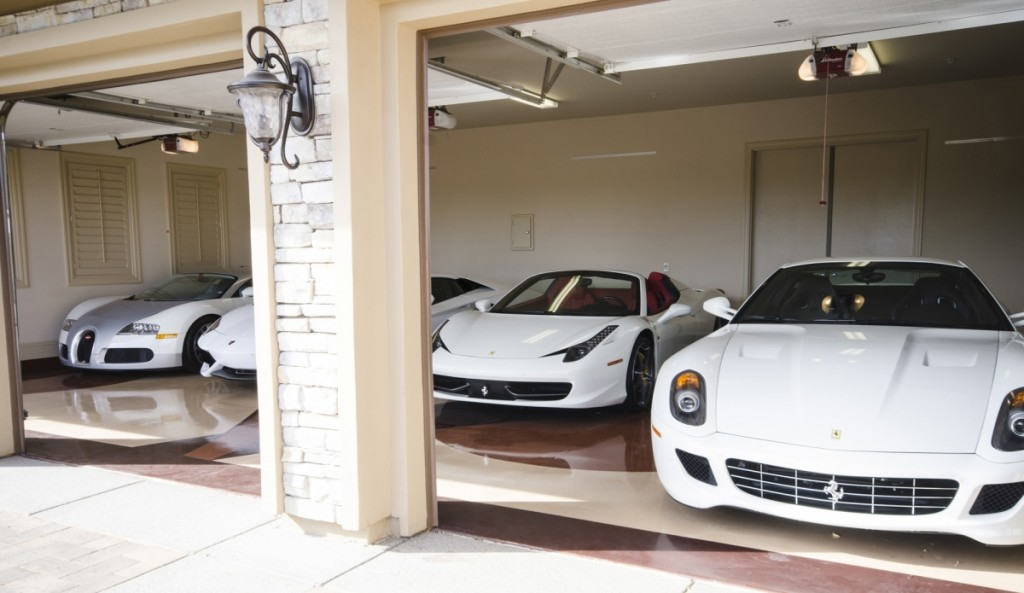 Floyd Mayweather's All White Car Collection Is Absolutely Insane