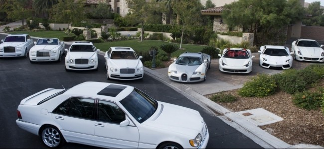 Floyd Mayweather's All White Car Collection Is Absolutely Insane!