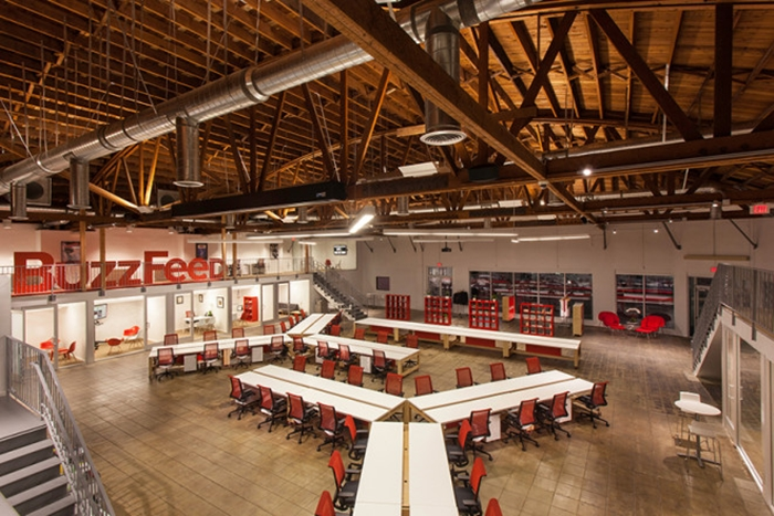 I Bet You Would Love To Work Here! Cool BuzzFeed Offices in LA