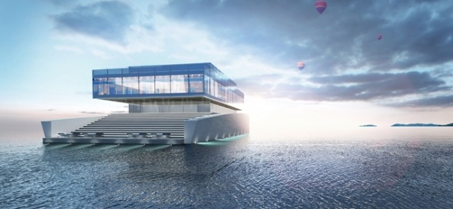 You Won't Believe What This Yacht Is Made Of! Impressive Luxurious Yacht Concept