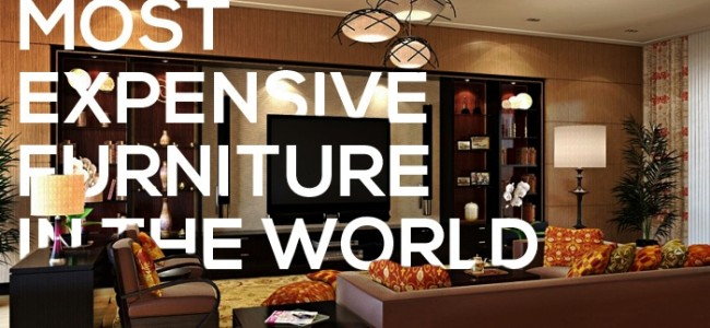 Most Expensive Furniture In The World | Top 5