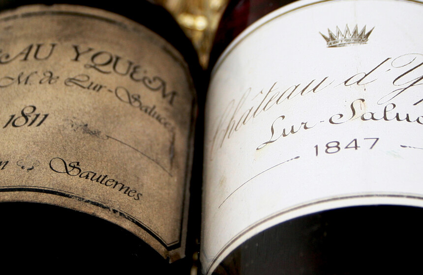 Most Expensive Alcoholic Drinks in the World #9 1811 Château d'Yquem – $130,000