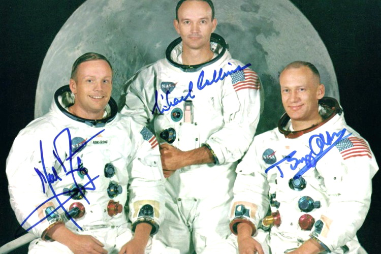 Most Expensive Autograph in the World Neil Armstrong