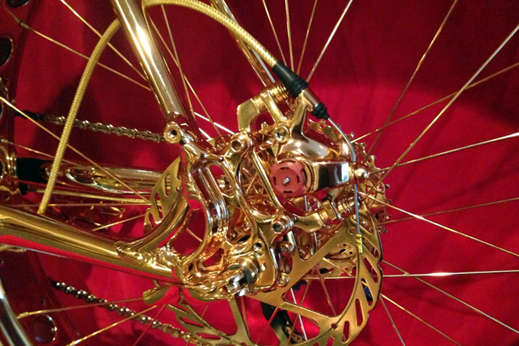 Most Expensive Bicycle Engraved in Gold (1)