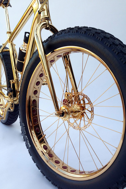 Most Expensive Mountain Bike >> Most Expensive Bicycle Engraved in Gold - Alux.com