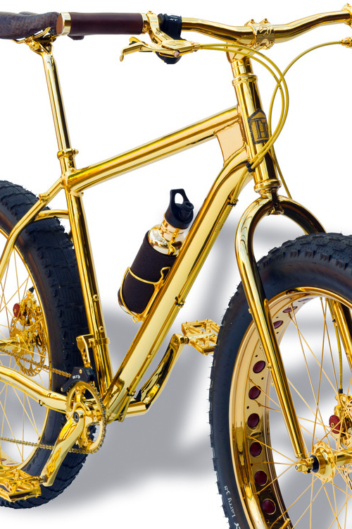 Most Expensive Bicycle Engraved in Gold (6)