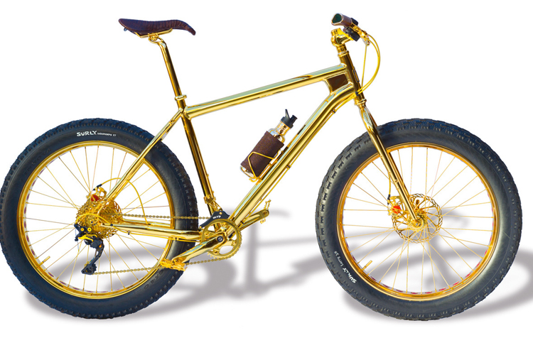 Most Expensive Bicycle Engraved in Gold (8)