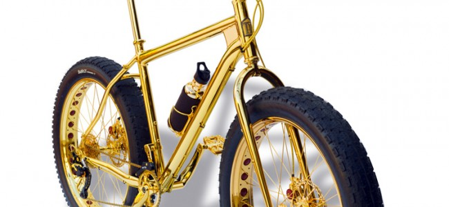 Most Expensive Bicycle Engraved in Gold