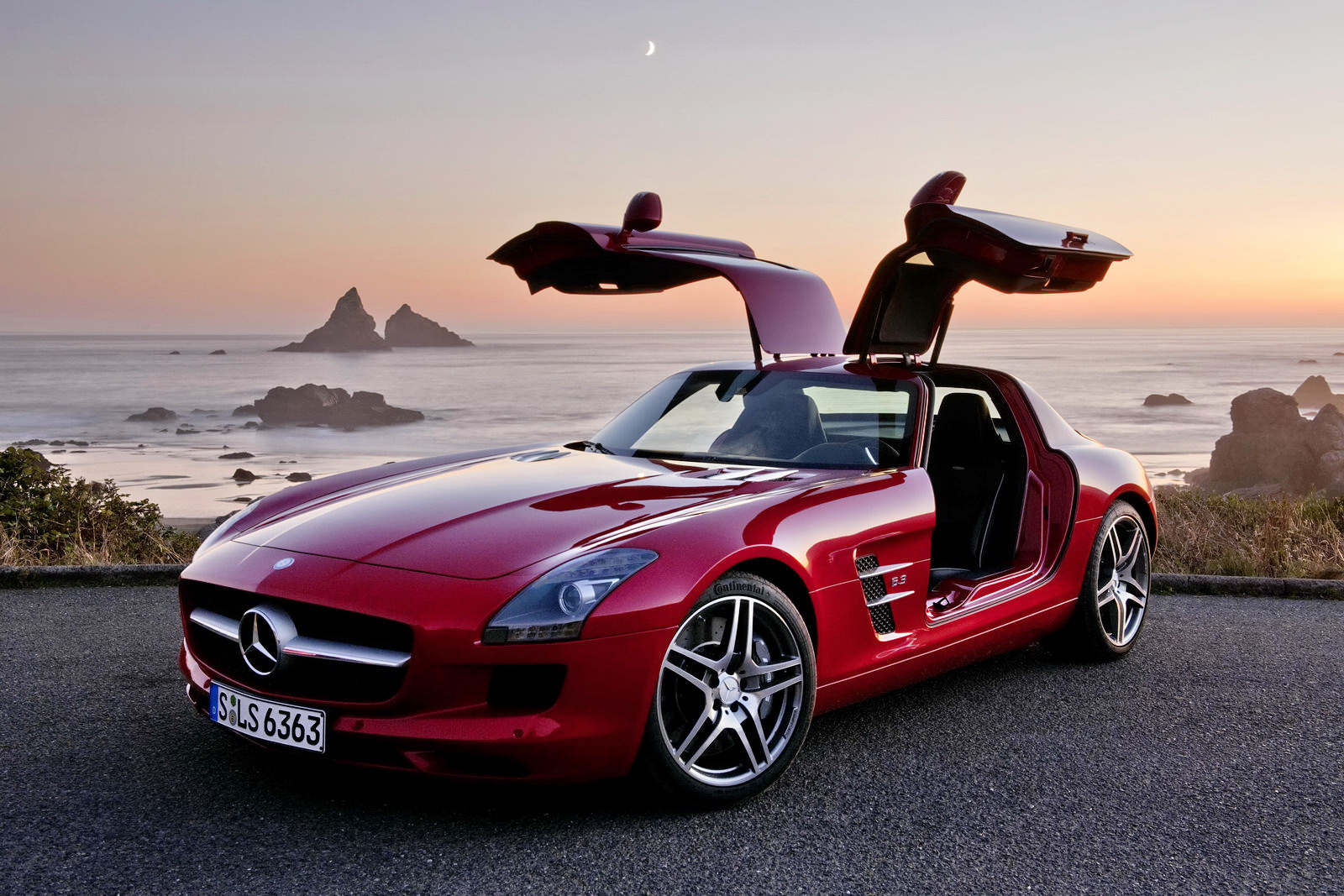 Most Expensive Electric Cars Mercedes Benz Sls Gullwing E Cell
