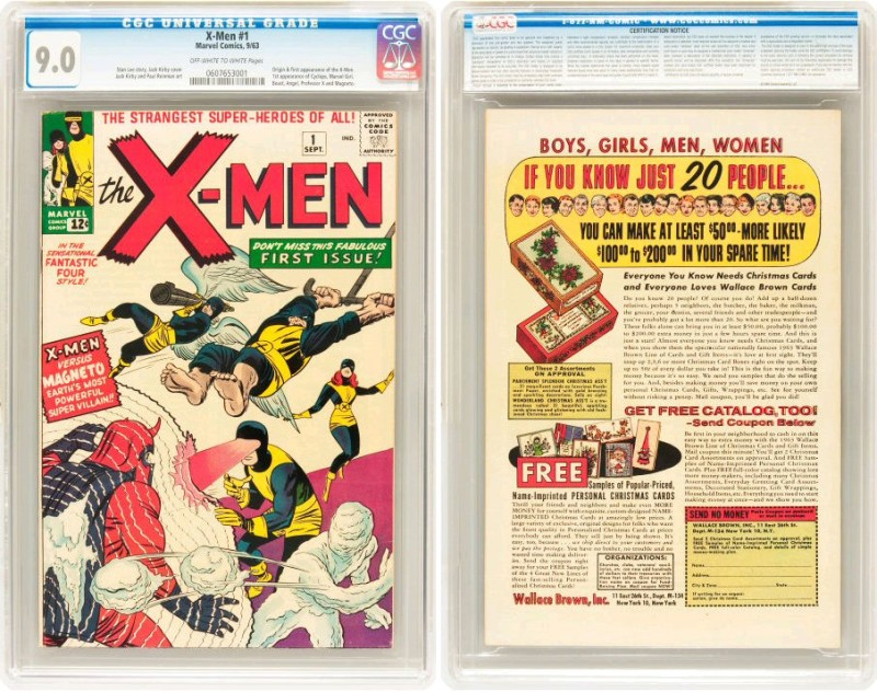 Most Expensive X-Men Comic-Book in the World comic-book