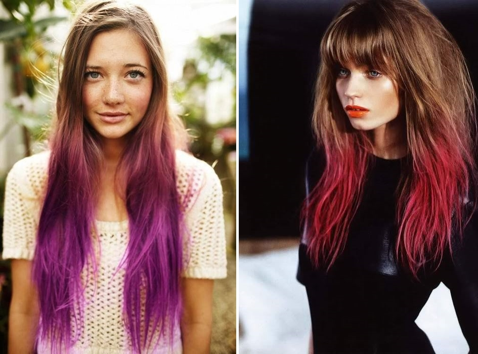 Ombre Hair Trends 2014
