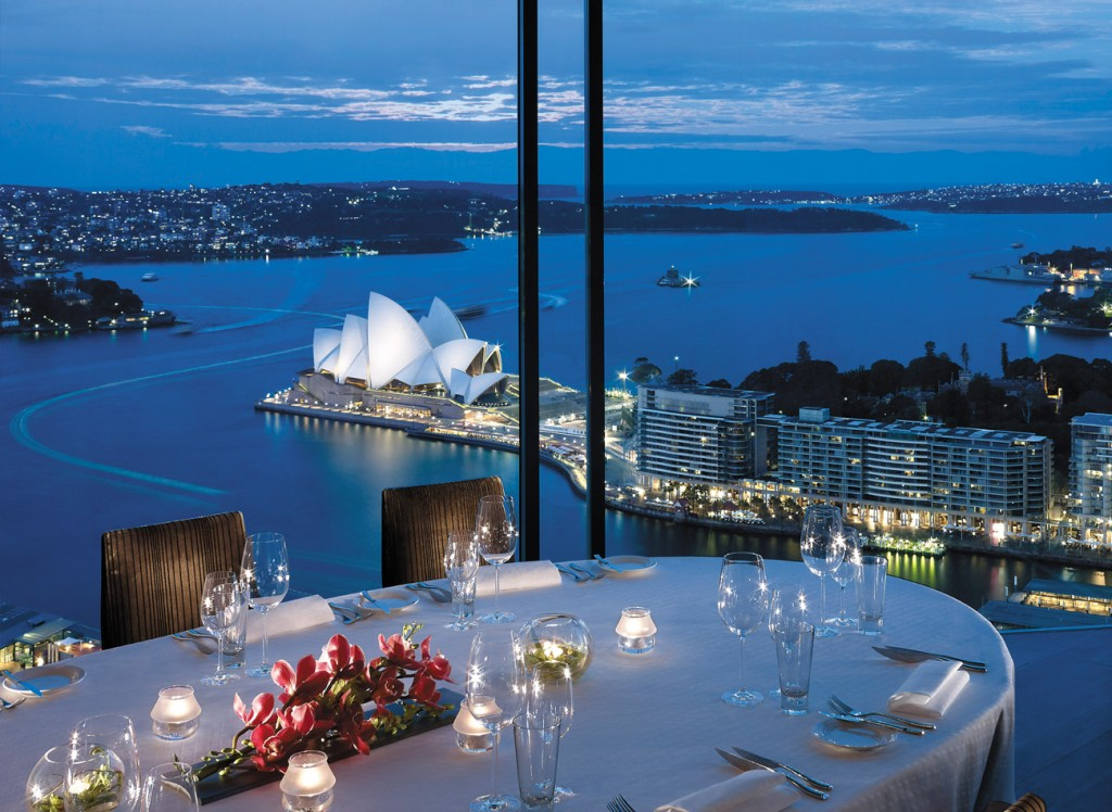 Restaurants With Breathtaking Views - Altitude at Shangri-La – Sydney, Australia