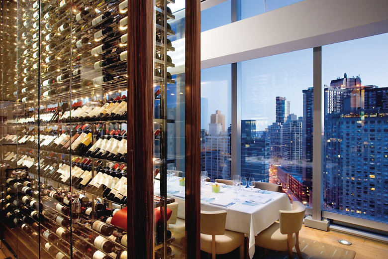 20 restaurants with breathtaking views for Best private dining rooms new york city