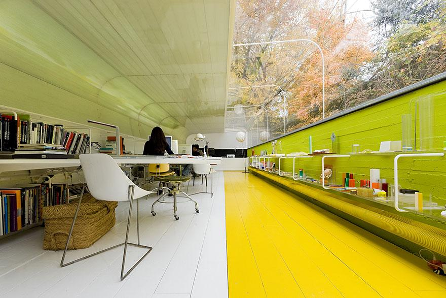 Sustainable Office in the Woods Makes You Rethink Your Career Choice! (2)