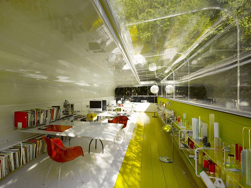 Sustainable Office in the Woods Makes You Rethink Your Career Choice! (3)