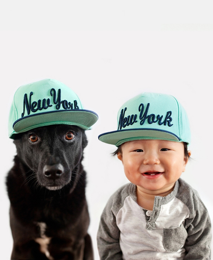 The most adorable relationship between a dog and a baby