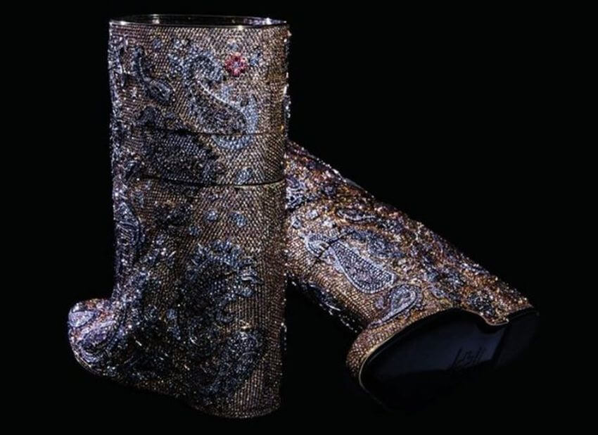 Most Expensive Boots in the World - EALUXE.COM via elitedaily.com