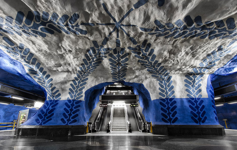 These Metro Stations In Stockholm Will Simply Blow Your Mind!