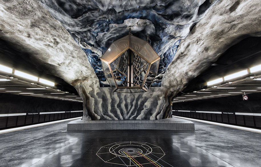 Stockholm's Metro Stations