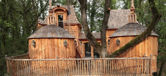 this might be the coolest tree house in the world