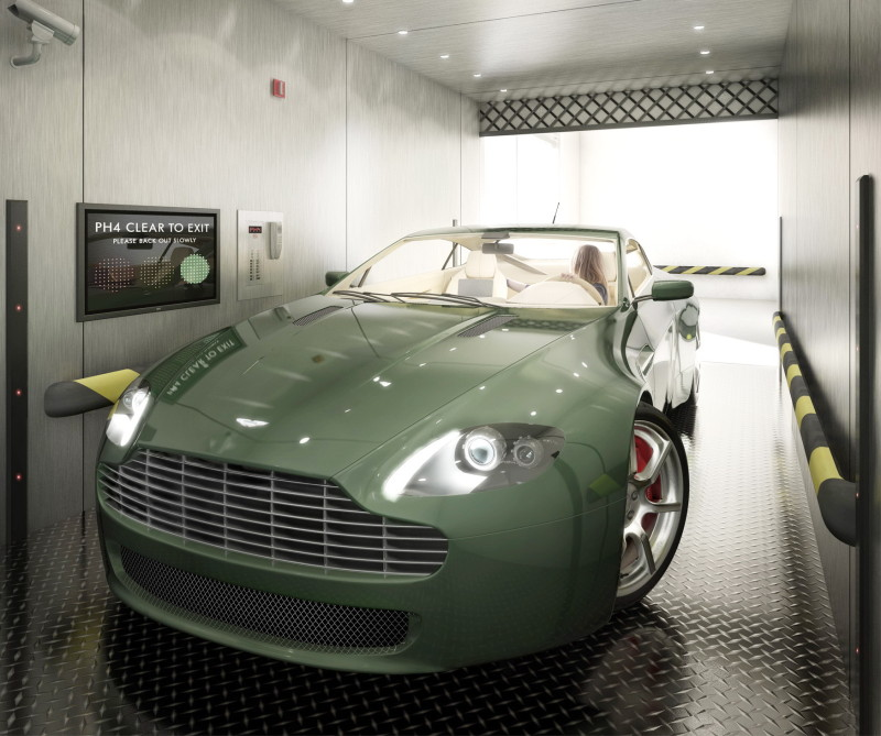 Unreal Penthouse Features a Private Elevator for Cars Sky Garage (6)