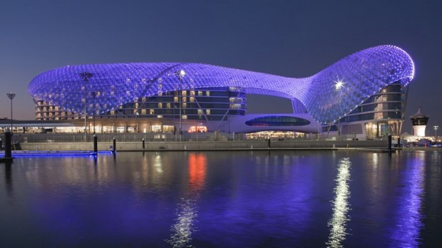 Yas Viceroy - Abu Dhabi 23 Hotels in the Middle East That Take Luxury to Another Level!