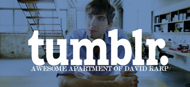 The Awesome Apartment Of Tumblr Founder David Karp It's Not What You Would Expect!