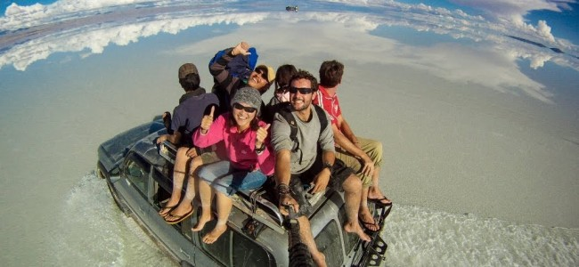 3 Year Epic Selfie Around the World