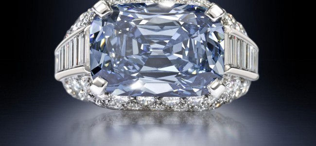 Most Expensive Engagement Ring in the World: Bvlgari Blue