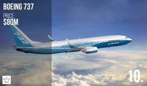 top 10 most expensive private jets in the world how much money cost with price and who owns them unknown businessman boeing 737