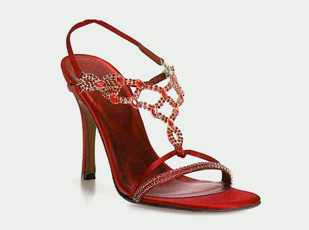 top 10 most expensive women's shoes in the world Ruby Slippers by Stuart Weitzman