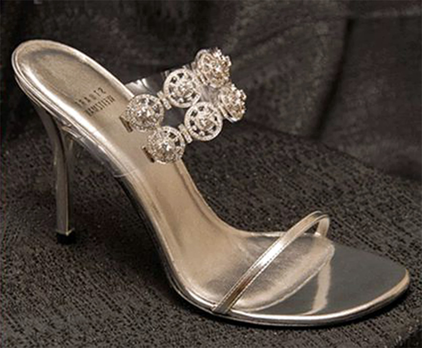 top 10 most expensive women's shoes in the world - Stuart Weitzman Diamond Dream Stilettos
