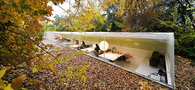 Sustainable Office in the Woods Makes You Rethink Your Career Choice!