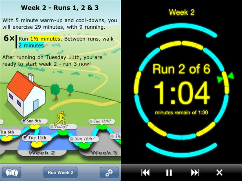 10 best fitness apps that will make you hotter for Couch 5k app