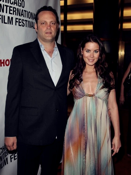 10 Celebrities Who Married Ordinary People 10. Vince Vaughn and Kyla Weber