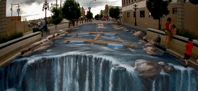 10 Unbelievable 3D Street Artworks