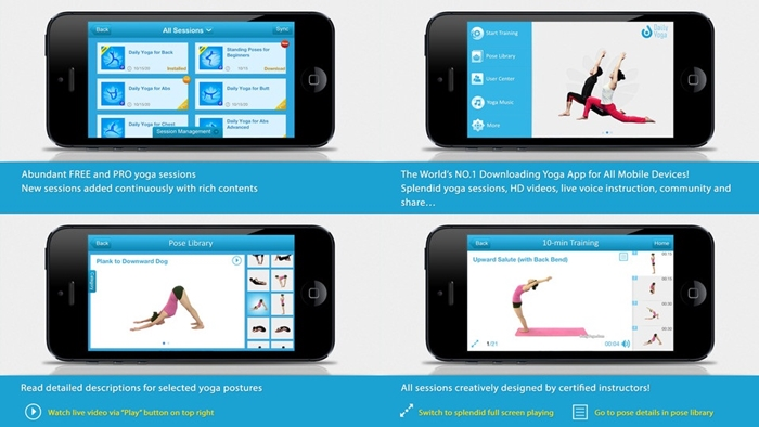 5 Best Apps For Holidays - Yoga Studio