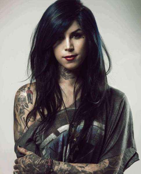 Hottest Tattooed Women Top 10 10. Kat Von D