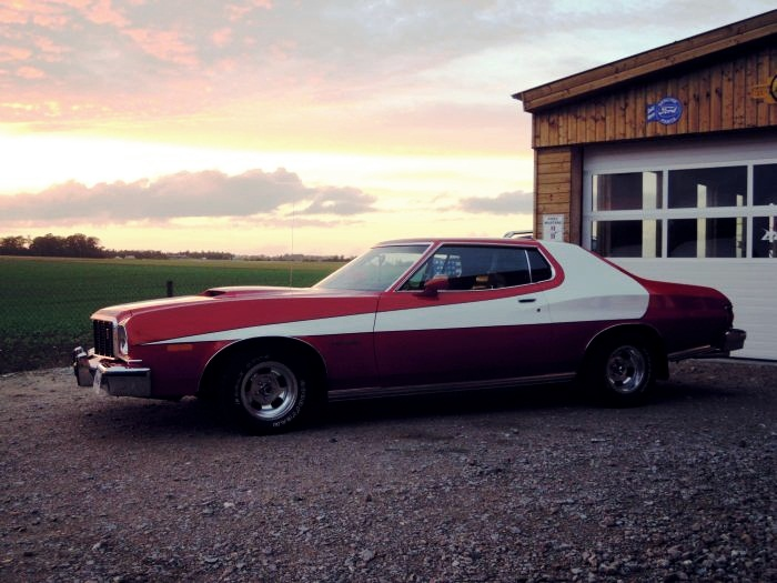 Most Memorable Movie Cars  Top 10 10. 1976 Ford Gran Torino (Starsky's Gran Torino) - Starsky and Hutch