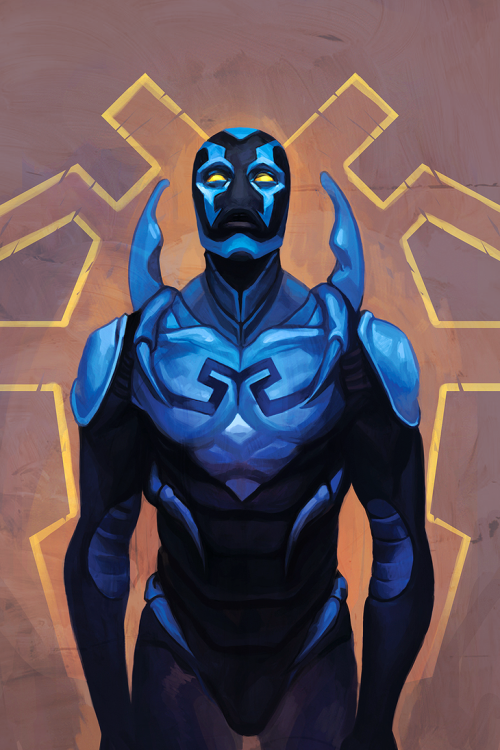 10 Richest Superheroes in the World| 10. Blue Beetle – $100 million estimated