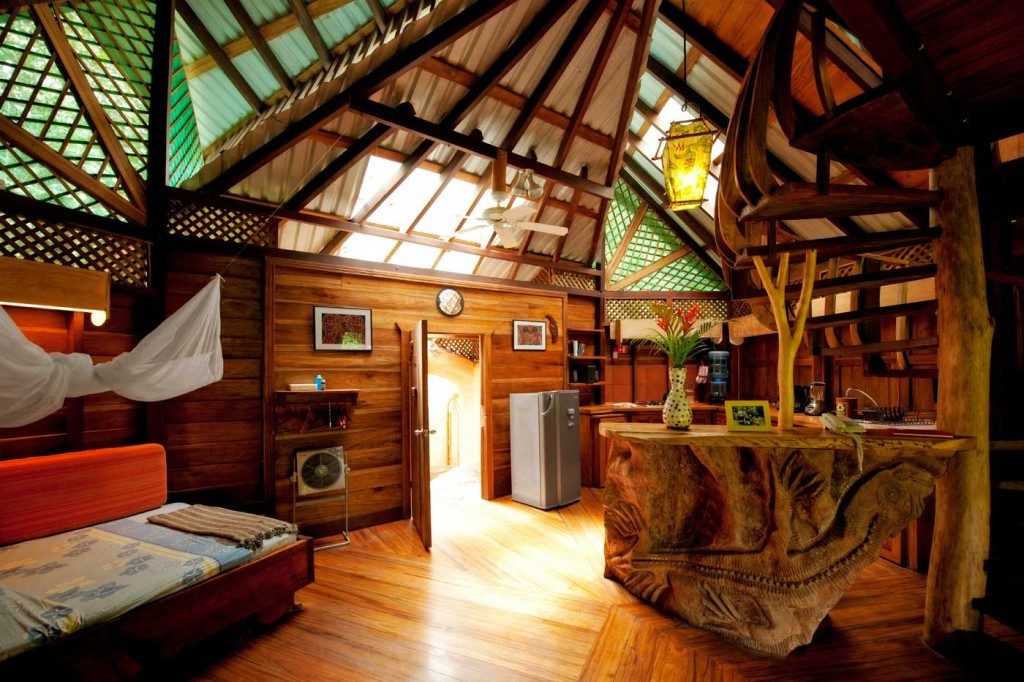 Most Beautiful Living Spaces In The World  Top 10  - Tree House