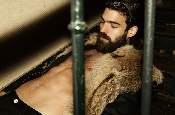 Hottest Bearded Models - Alux.com