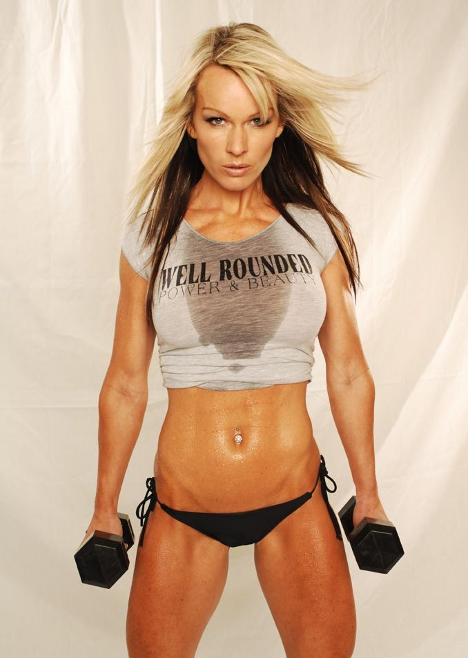 Hottest Female Fitness Models |Top 10 - Annette Milbers