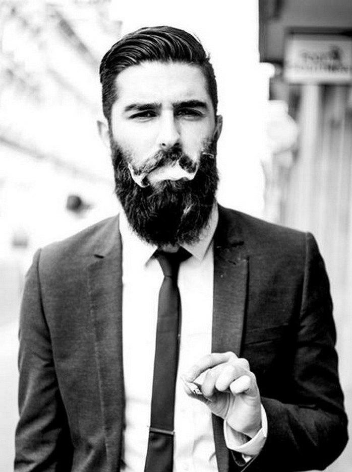 Hottest Bearded Models Alux Com