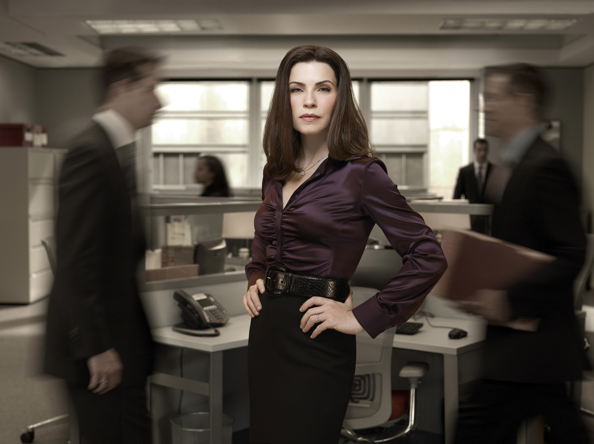 10 Best Dressed TV Stars And Shows - Alicia Florrick (Julianna Margulies) - The Good Wife
