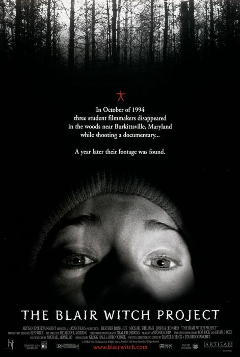 10 Expensive Movies Where Everyone Dies at the End 10. The Blair Witch Project - $25 million
