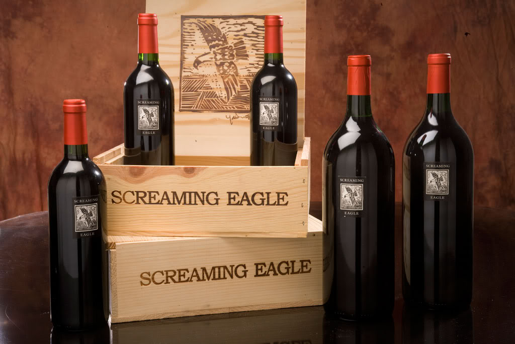10 Luxury Items That Impress Even The Rich - Screaming Eagle Cabernet - $500.000