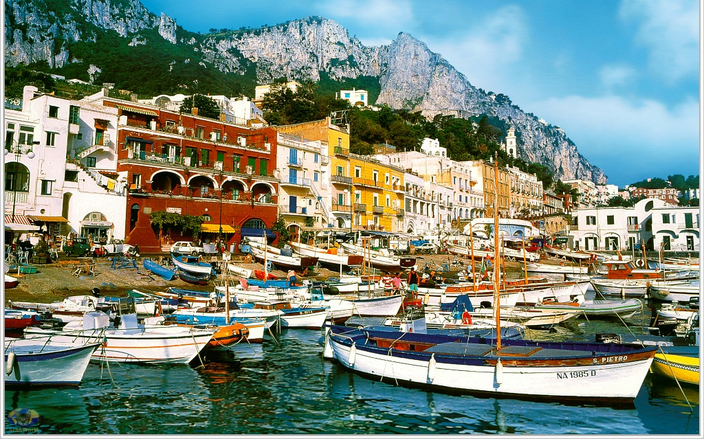 10 Most Beautiful Islands In The World - 3. Capri, Italy