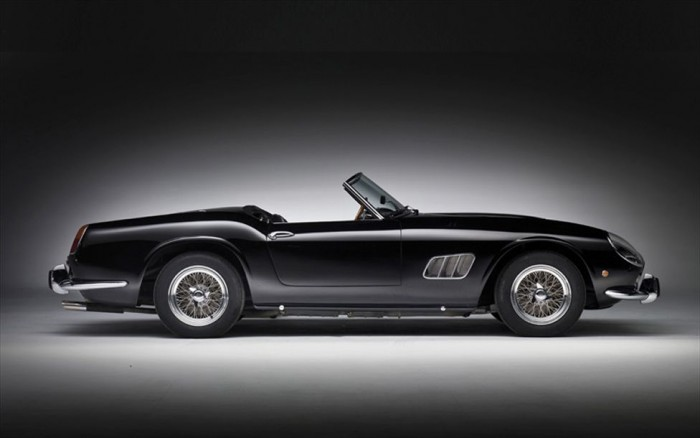 9.Ferrari 250 GT SWB California Spyder | Most Expensive Classic Cars
