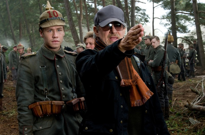 Richest Directors in the World | TOP 10| 2. Steven Spielberg On the set of War House (2011)